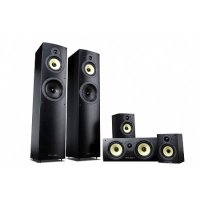 Wharfedale Crystal 4 Black Wood